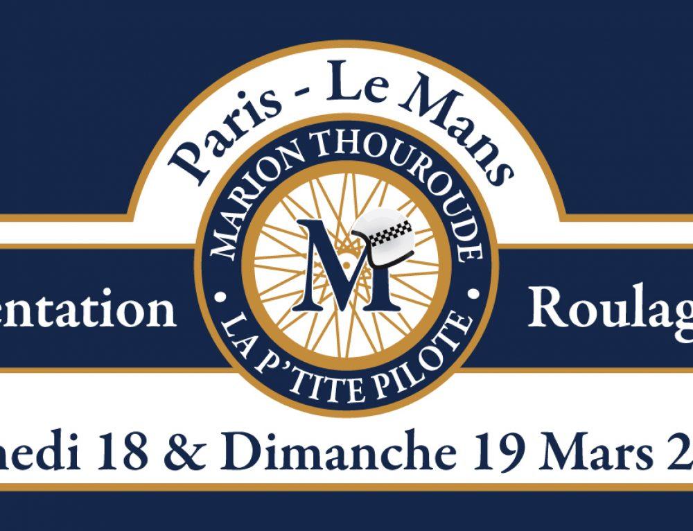 1er rallye La P'tite Pilote Paris-Le Mans