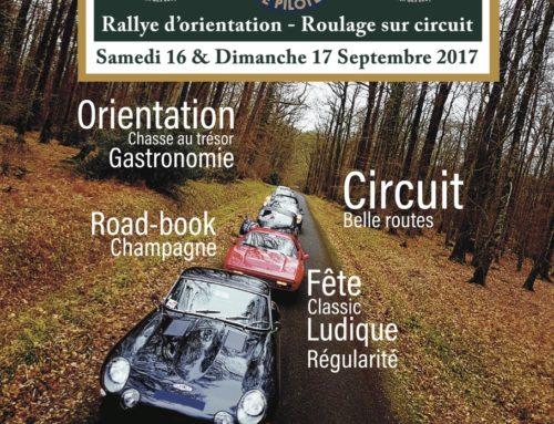 2ème Rallye La P'tite Pilote : Paris-Reims 16&17 septembre 2017